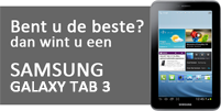 Win een Samsung Galaxy Tab 3