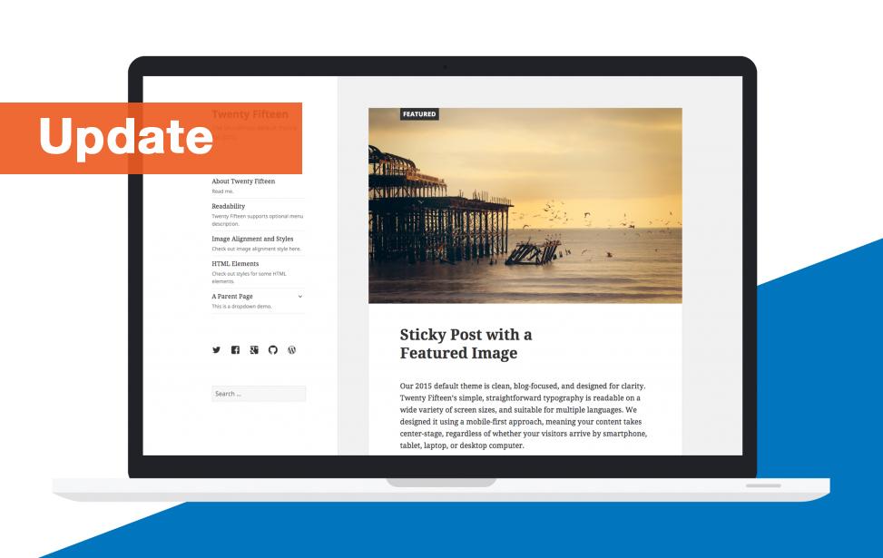 WordPress 4.1 update