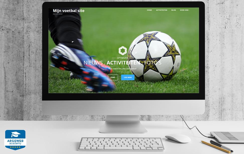 wordpress website met een mooi thema