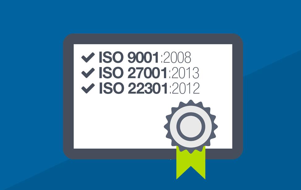 ISO certificeringen