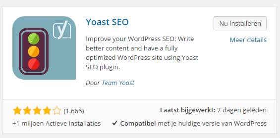 Yoast plugin WordPress