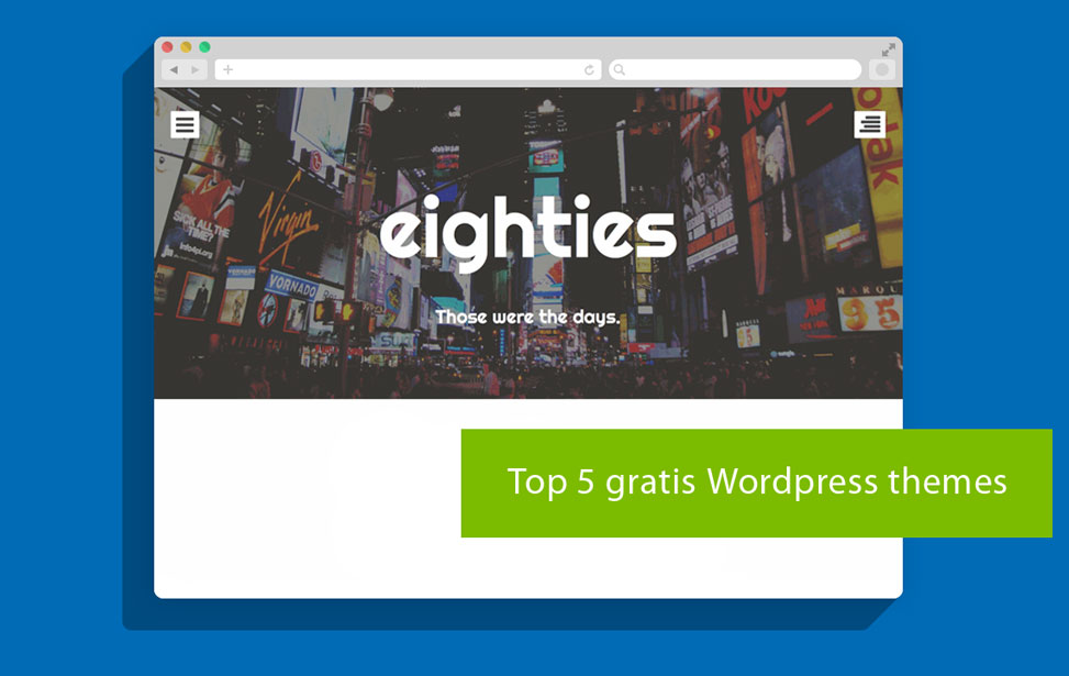 Top 5 gratis WordPress themes februari 2016