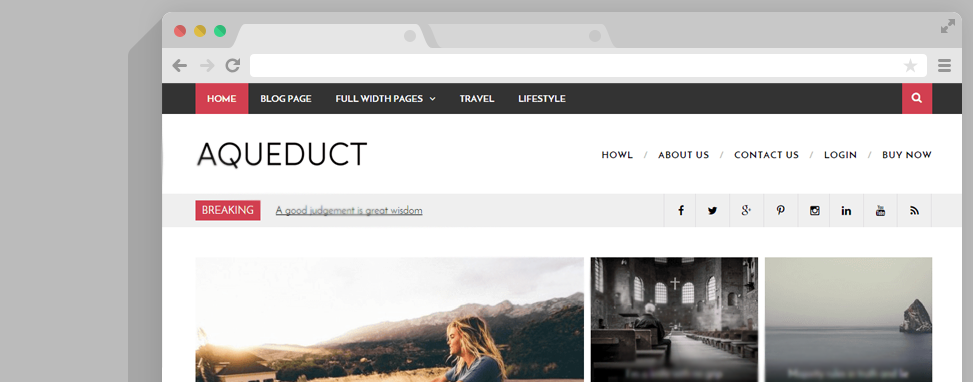 aqueduct wordpress thema