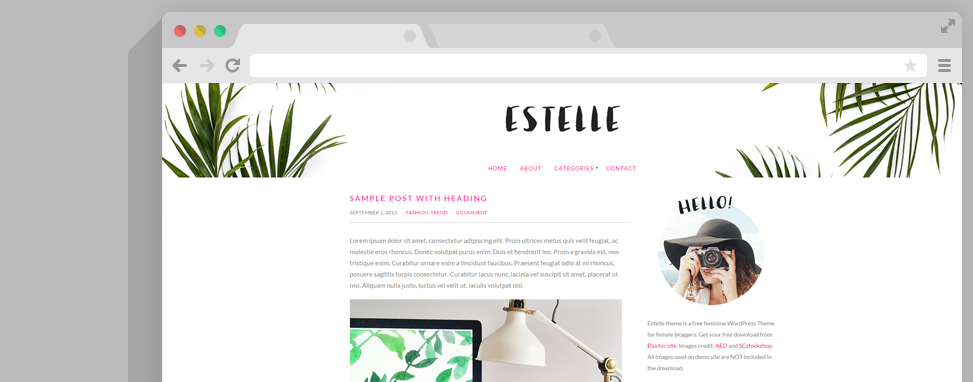 estelle wordpress thema