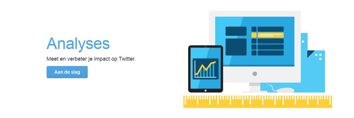 Aan de slag met Twitter Analytics