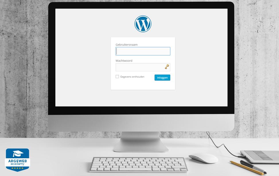 Rondleiding door WordPress
