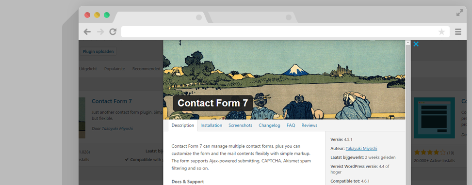 contactform 7 plugin