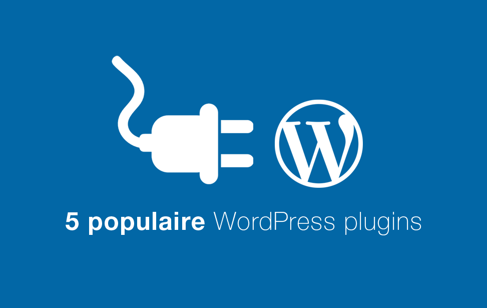5 wordpress plugins