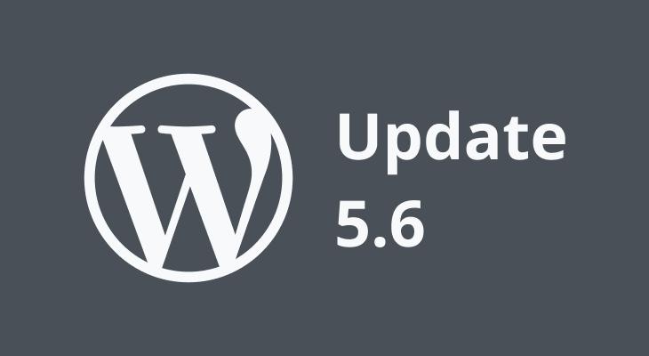 wordpress update 5.6