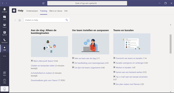 microsoft teams online training