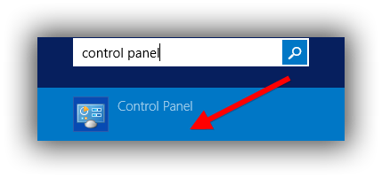 Control Panel Windows VPS