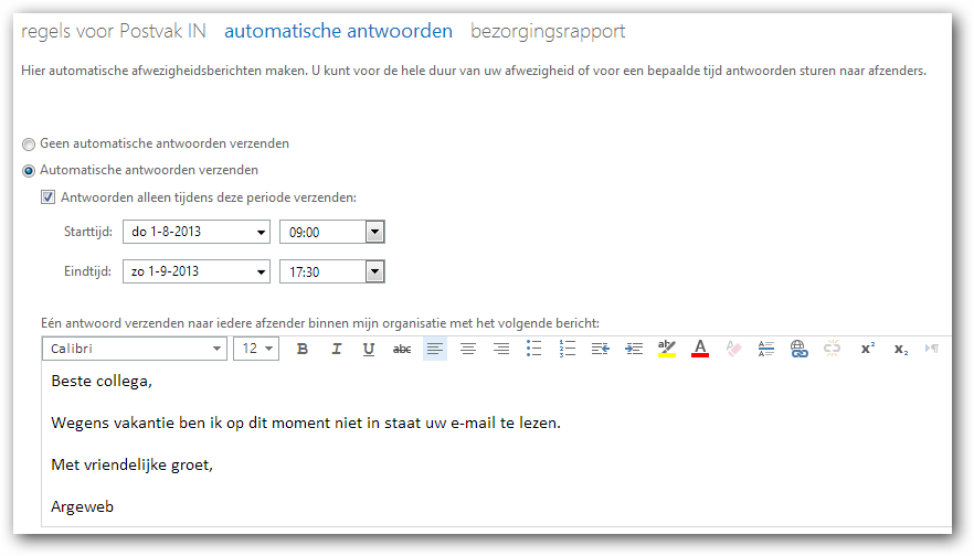Out of office reply outlook 2013 how do i set an out of office message in outlook 2013 how to - Out of office outlook 2013 ...