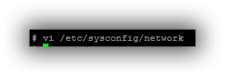 Sysconfig
