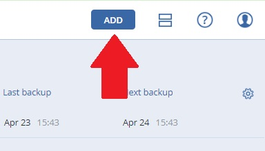 Download back-up agent