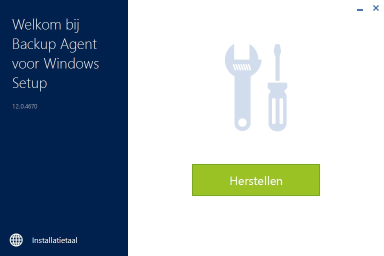 Back-up agent voor windows