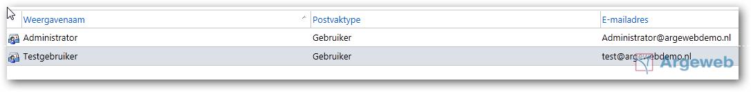ECP 2010 - Gebruiker aanmaken