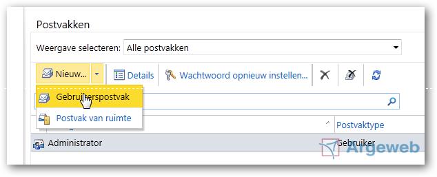 ECP 2010 - Gebruiker aanmaken 1